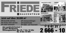 Friede Bauzentrum