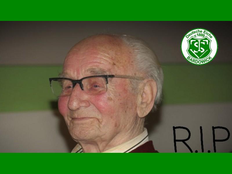 Otto Koch ist verstorben - er war 89 Jahre Mitglied beim TSV Bardowick