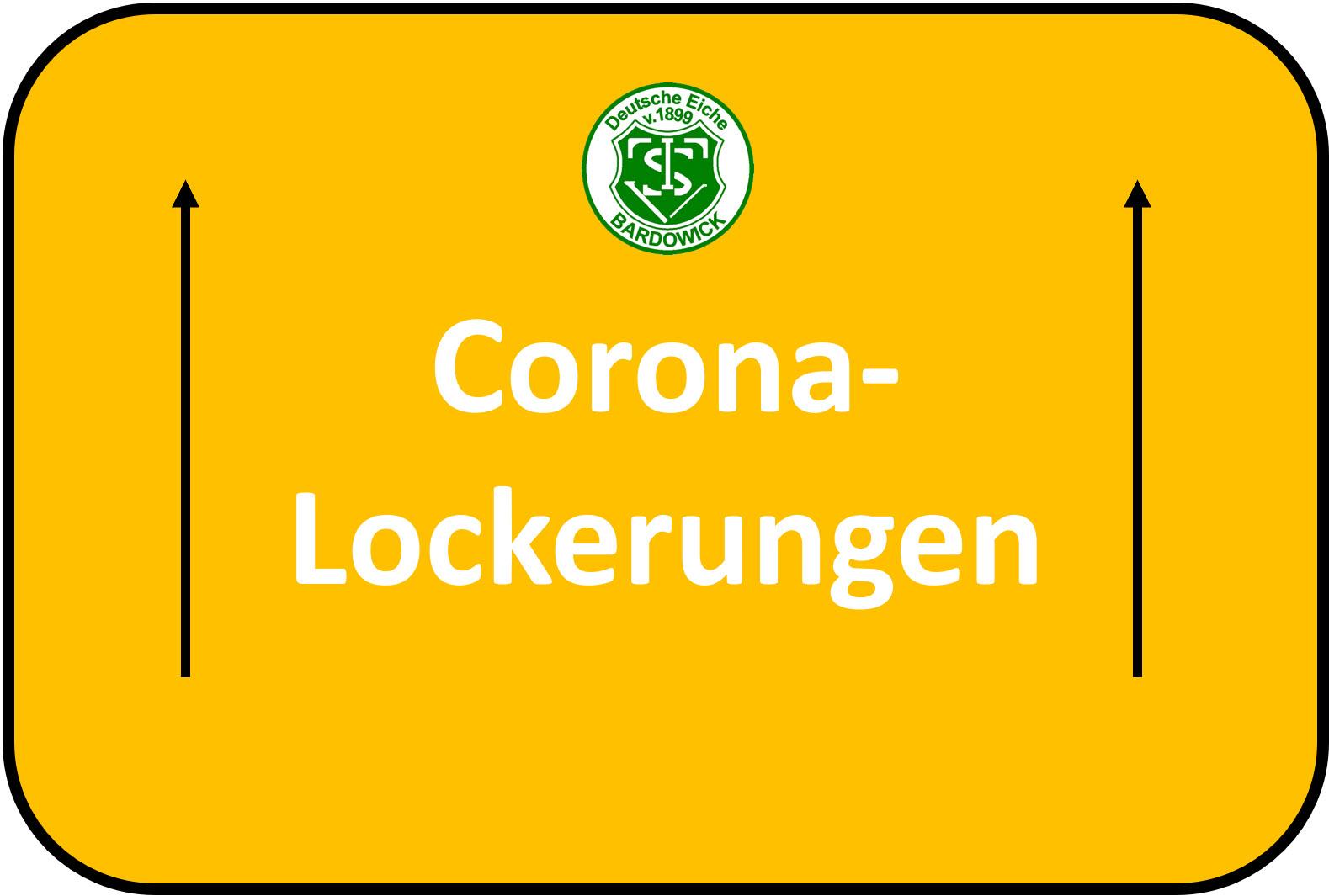 Lockerungen nach Corona-Lockdown