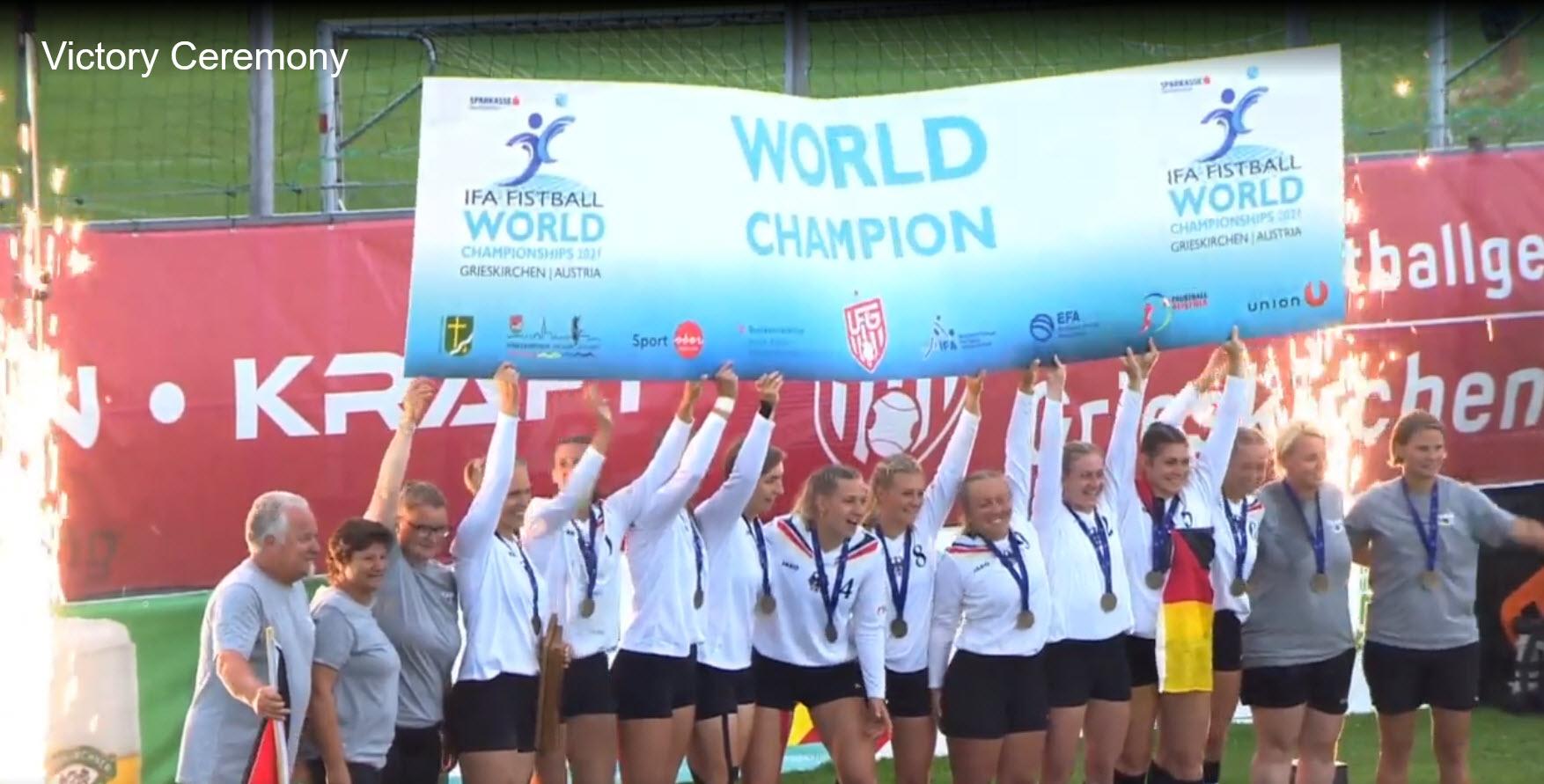 Michaela Grzywatz gewinnt WM-Titel