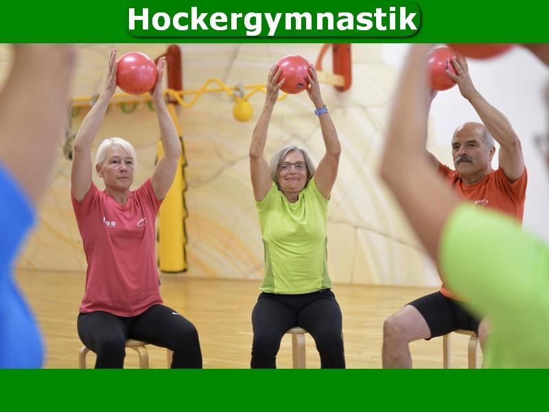 Neues Angebot: Hockergymnastik