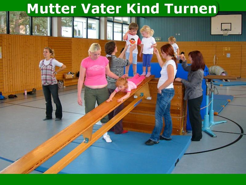 Mutter-Vater-Kind-Turnen