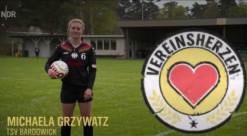 NDR Vereinsherzen: Michaela Grzywatz